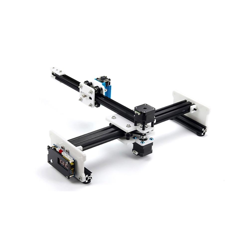US $169 0 |A4 Laser Cutter Engraver DIY Laser Engraving Machine  500MW/1600MW/2500MW EleksCAM Desktop Mini Laser Cutting Printing Machine  -in Wood