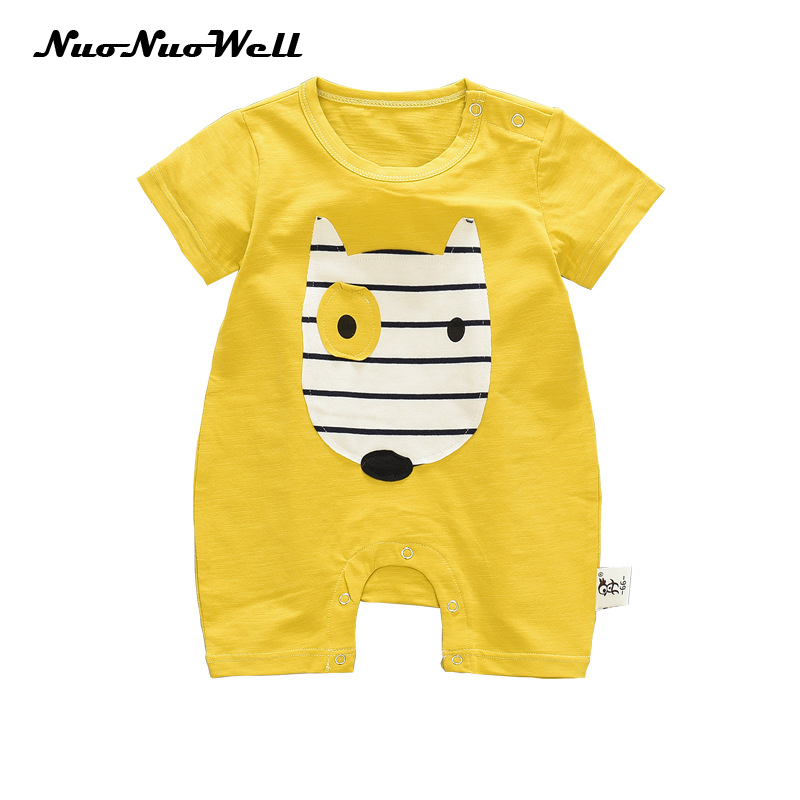 CDHL99 Elephant South Africa Flag-1 Infant Baby Boys Girls Short Sleeve Rompers Costume Jumpsuit 0-2T