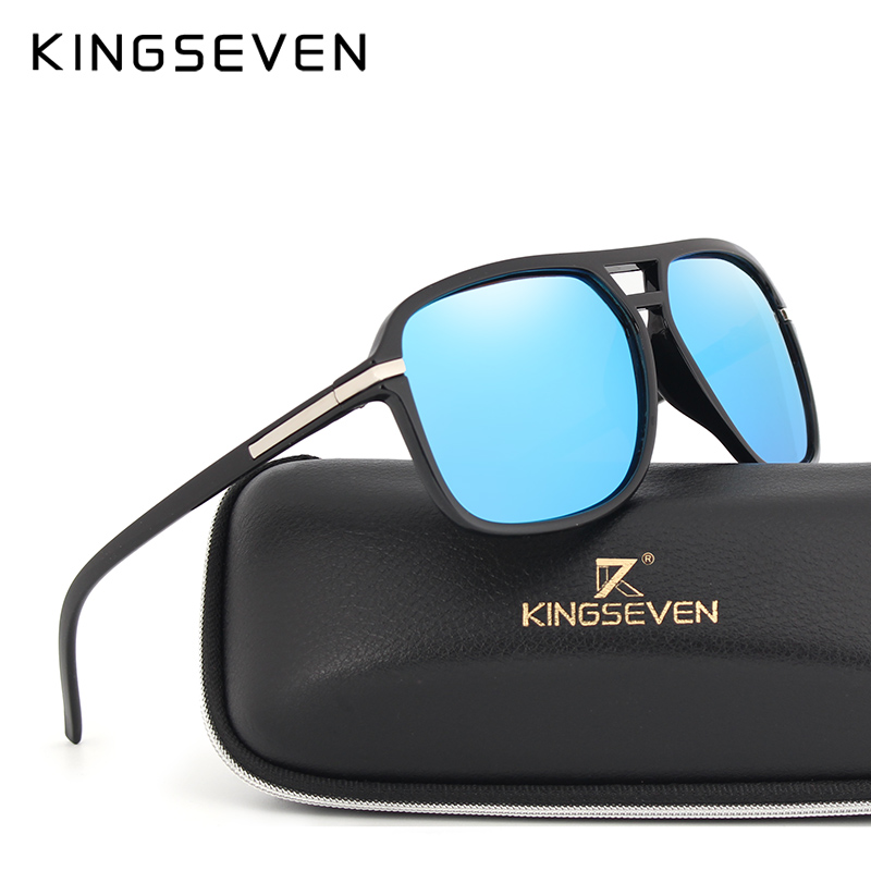 KINGSEVEN Brand Polarized Sunglasses Men Vintage Mirror Goggles Sun Glasses For Women Driving Eyewear gafas oculos de sol N7106 ...