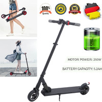 (Ship From DE)5.5 Inch Electric Scooter Foldable Skateboard Bike 2 Wheels Aluminium Alloy E Scooter23km/h Smart Adult Hoverboard