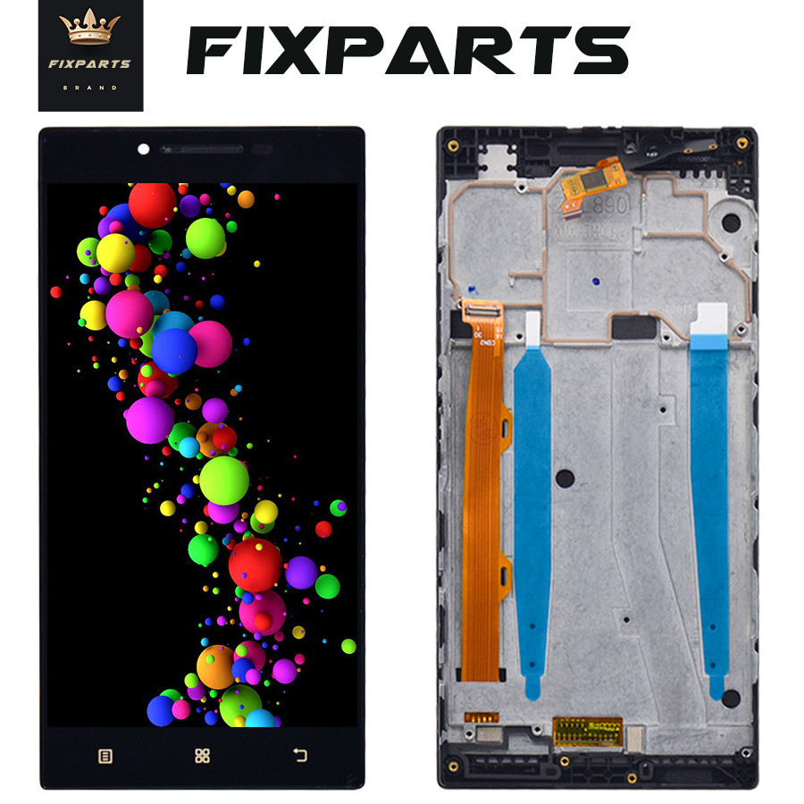 For <font><b>Lenovo</b></font> <font><b>P70</b></font> LCD <font><b>Display</b></font> Touch Screen Digitizer Assembly with Frame <font><b>P70</b></font>-A <font><b>P70</b></font>-T Replacement +Tools For 5.0