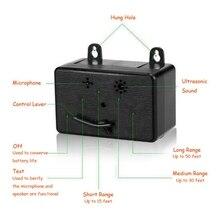 Отпугиватель собак открытый ультразвуковой отпугиватель Анти лай устройство для обучения собак тренинги товары для животных контроль звуковой стоп-лай
