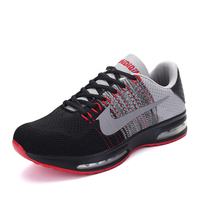 New Arrive Men Mesh Running Shoes Male Breathable Outdoor Sports Shoes Men Athletic Training Run Sneakers Men Sapatos Masculinos