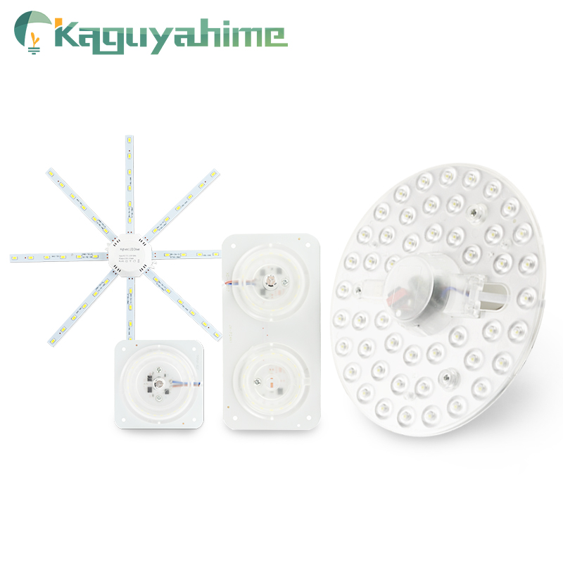 Kaguyahime 220V LED Ceiling Lamp Octopus Light 12W 16W 18W 20W 24W 5730SMD Magnetic Modified Source Round Indoor Ring Tube Bulb
