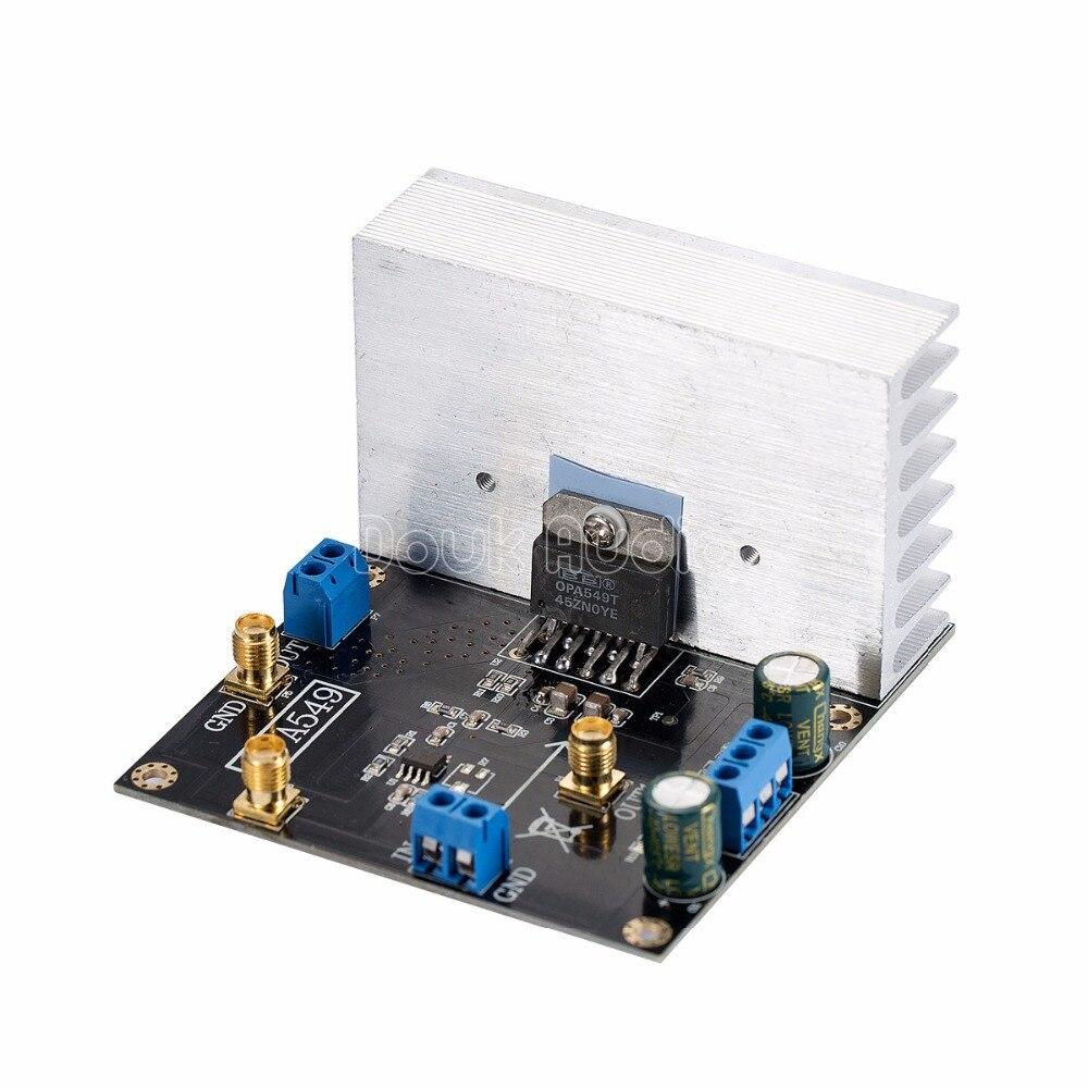 OPA549 Module Audio Power Amplifier Board Driver High-voltage High-current 8A lson mini amplifier module board red