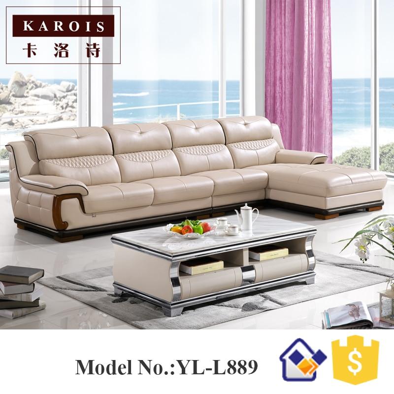 No inflatable and genuine leather material sofa set sofa for Sofa cama plegable