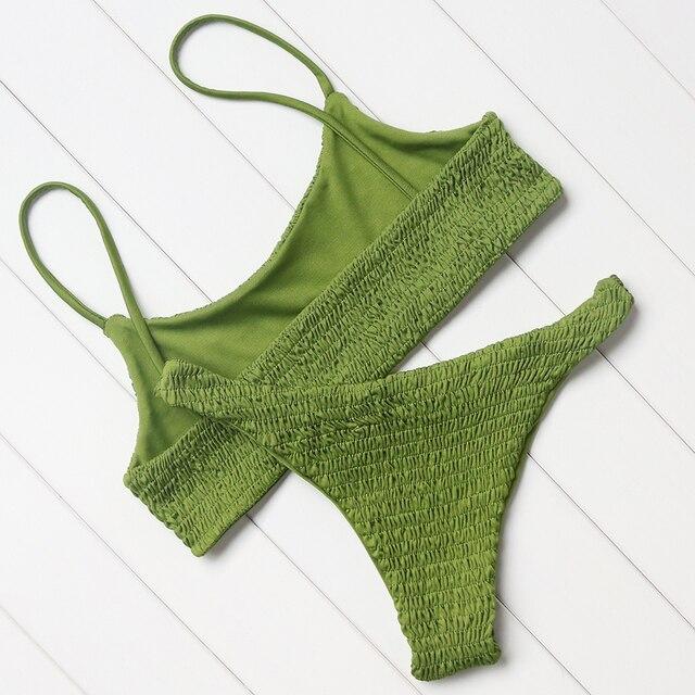 Sexy Bikini Swimwear Women Swimsuit Push Up Micro Brazilian B1249 2