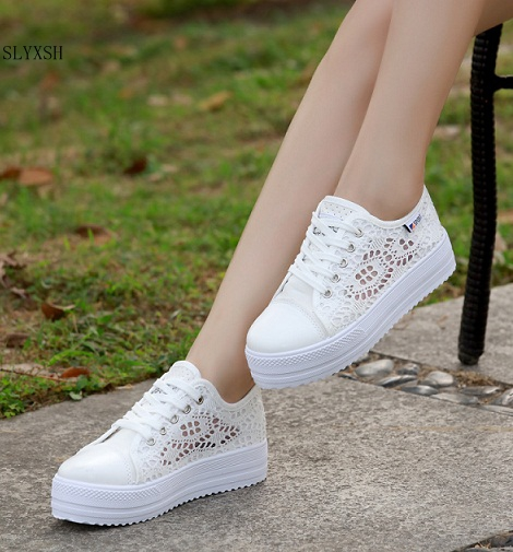 2018Fashion Summer Women Shoes Casual Cutouts Lace Canvas Shoes Hollow Floral Breathable Platform Flat Shoe sapato feminino35-402018Fashion Summer Women Shoes Casual Cutouts Lace Canvas Shoes Hollow Floral Breathable Platform Flat Shoe sapato feminino35-40