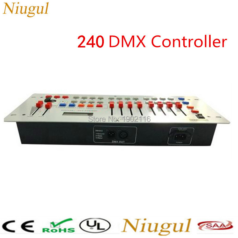 все цены на Niugul 240 Disco DMX Controller /DMX512 DMX Console Equipment For Stage Wedding And Event Lighting /DJ Controller For LED Lights