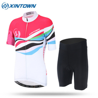 XINTOWN New Sports Cycling Jersey Sets Bike Ciclismo Bicycle Bicicleta Maillot Mtb Clothing Racing Womens Clothes