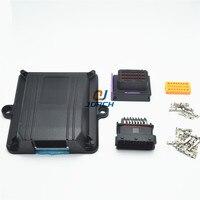 1 комплект 24 pin way ECU автомобильный пластиковый корпус двигатель автомобиля LPG CNG преобразования ЭБУ контроллер с автоматическими разъемами