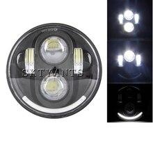 5 3/4 «Лампа светодиодная фара мотоцикла DRL для улицы 750 светодиодные фары h4 led 5,75» для sportster 883