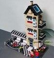 546 unids villa eductional building block juguetes compatible con lego bloques de ladrillo bloque de construcción de la estructura de las casas de regalo