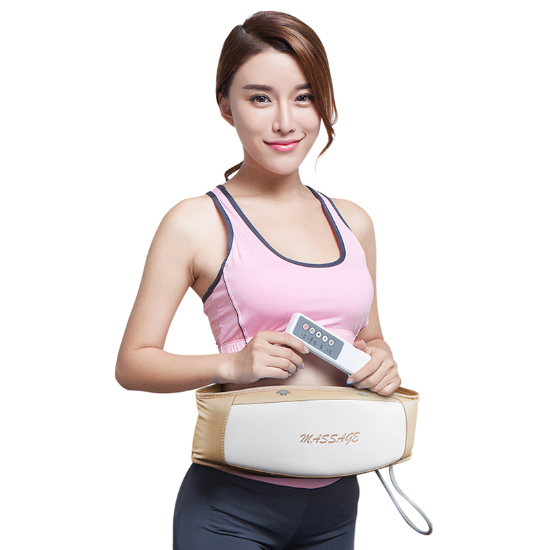 HOT Slimming Belt Electric Massager Vibration Women Waist Belly Electric Slim Belt Lose Weight Massage Belt Fat Burner elector hot sale hot sale car seat belts certificate of design patent seat belt for pregnant women care belly belt drive maternity saf