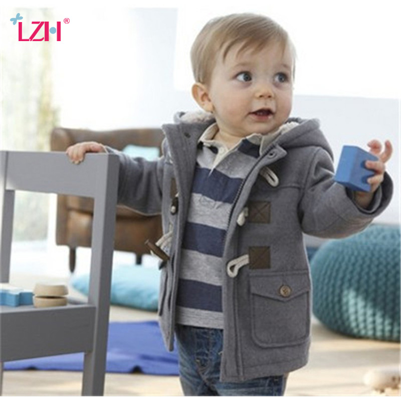 Infant Baby Jacket 2018 Autumn Winter Jacket For Boys Coats Kids Warm Hooded Outerwear Coat For Baby Boys Jacket Newborn Clothes тор 10 мадрид