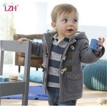 Детская куртка 2018 года, осенне-зимняя куртка для мальчиков, детская теплая верхняя одежда с капюшоном, куртка для маленьких мальчиков, одежда для новорожденных