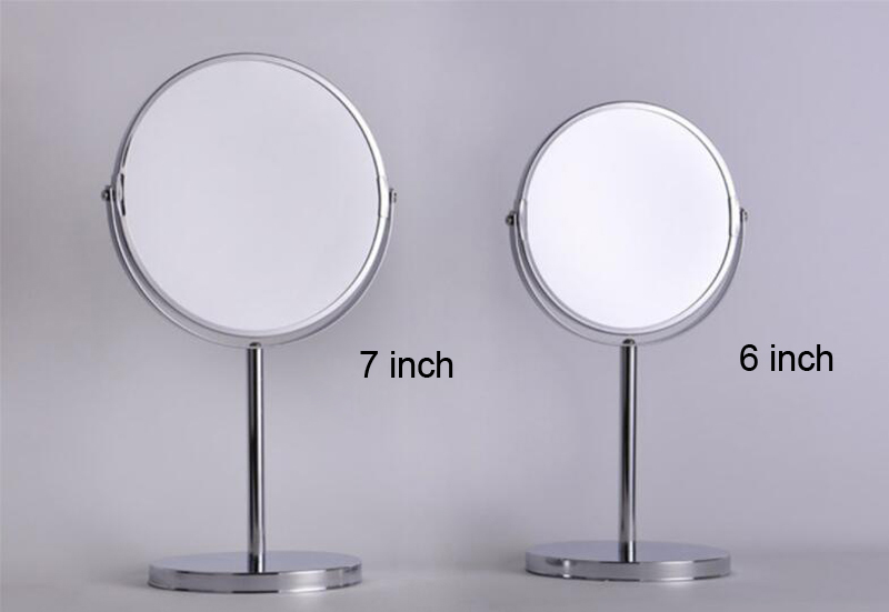 Round Table Mirror Free Standing Shaving U0026 Makeup Dual Face Mirror Large  Size M001TB In Makeup Mirrors From Beauty U0026 Health On Aliexpress.com |  Alibaba ...