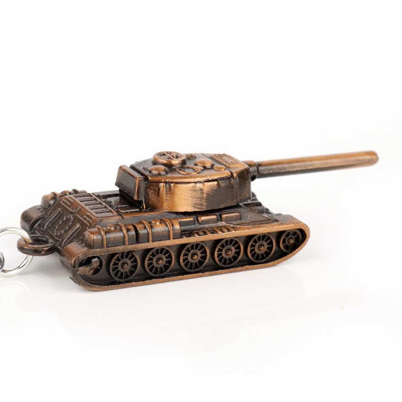 MQCHUN Moda Popular Jogo World Of Tanks Tanque Chaveiro Bala Pingente Mulher Jóias Trinket Chaveiro Saco de Homem Presente de Natal