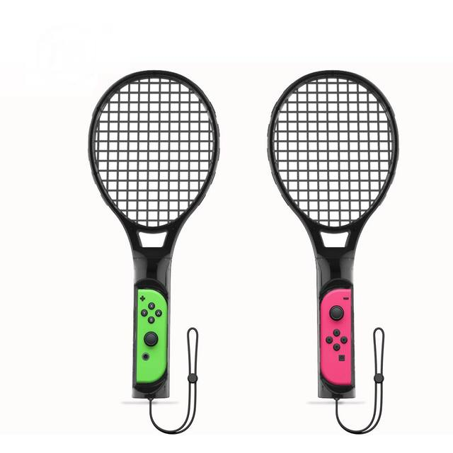 2 Pack Tennis Racket Handle Controller Holder for Nintendo Switch Joy-Con 4