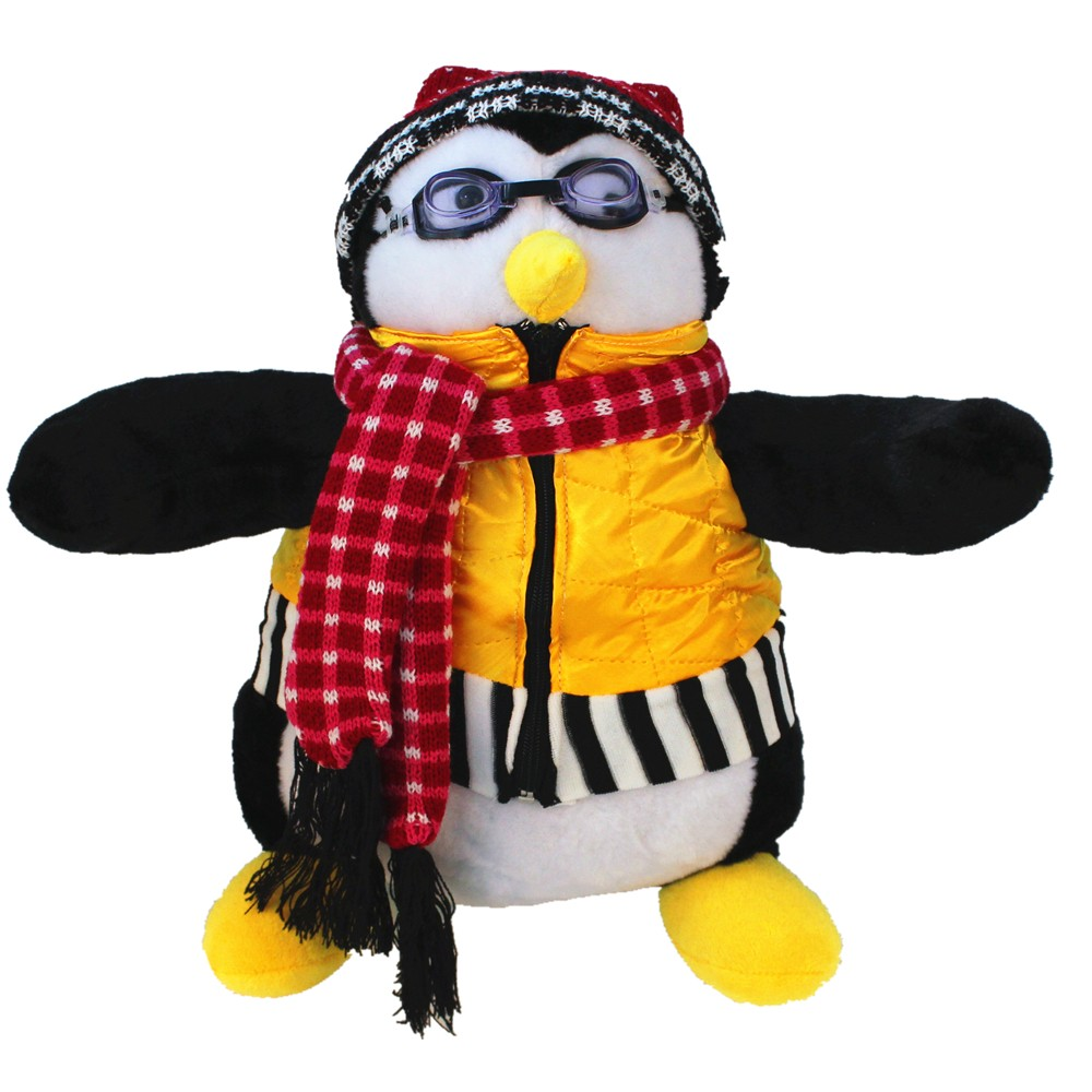 Skyleshine Joey's Friend Hugsy Plush Toys 40cm Penguin Rachel Stuffed Doll Brinquedo Kids Gifts S6232 plush ocean creatures plush penguin doll cute stuffed sea simulative toys for soft baby kids birthdays gifts 32cm