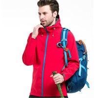 2019 New Winter Men's Fleece SoftShell Hoodies Jackets Coats Fashion Casual High Quality Man Windproof Coats S XXL