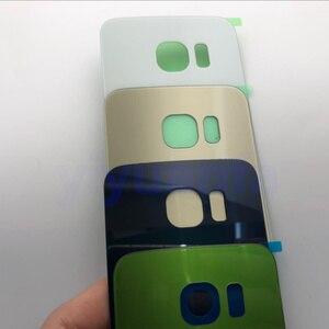 Image 5 - Чехол с полным корпусом, задняя крышка + стеклянный объектив переднего экрана + средняя рамка для Samsung Galaxy S6 Edge G925 G925F, полные детали