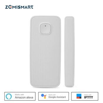 Capteur de porte Wifi capteurs de fenêtre Alexa Google Home mini IFTTT alarme de sécurité Smart Life Phone APP télécommande