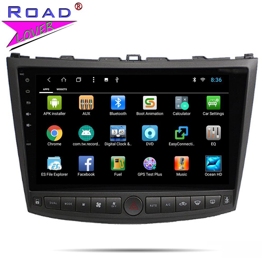Автомагнитола Android 8,1 10,1 ''dvd-плеер для Lexus IS250 IS300 IS200 IS220 IS350 2005-2012 стерео 2 Din головное устройство gps навигация