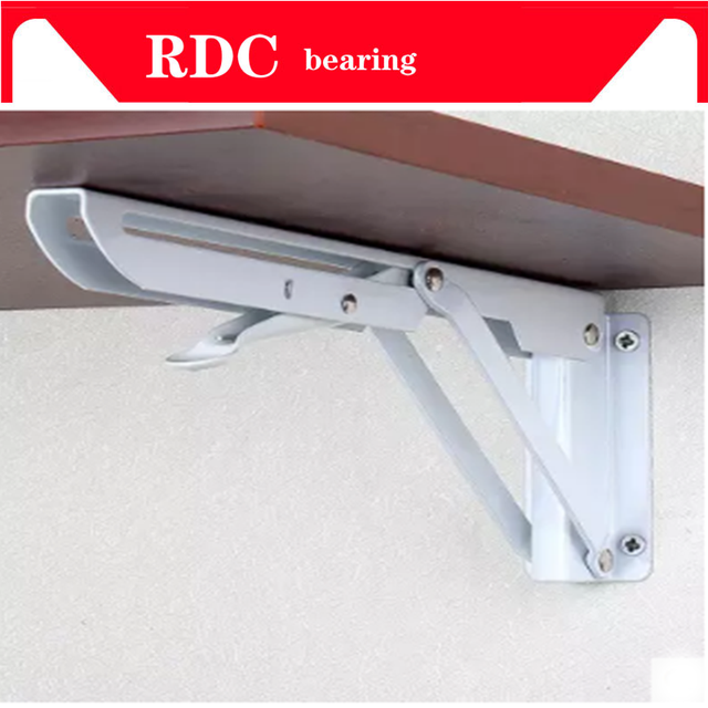 Excellent Us 15 2 29 Off Free Shipping 2Pcs Thickened Folding Bracket Triangular Metal Release Catch Support Bench Table Folding Shelf Bracket 150X300Mm In Uwap Interior Chair Design Uwaporg
