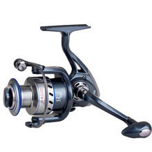 JF1000-7000 Fishing Reel Full Metal Rocker Arm Gapless Spinning Reel 12+1BB Front Drag Spool