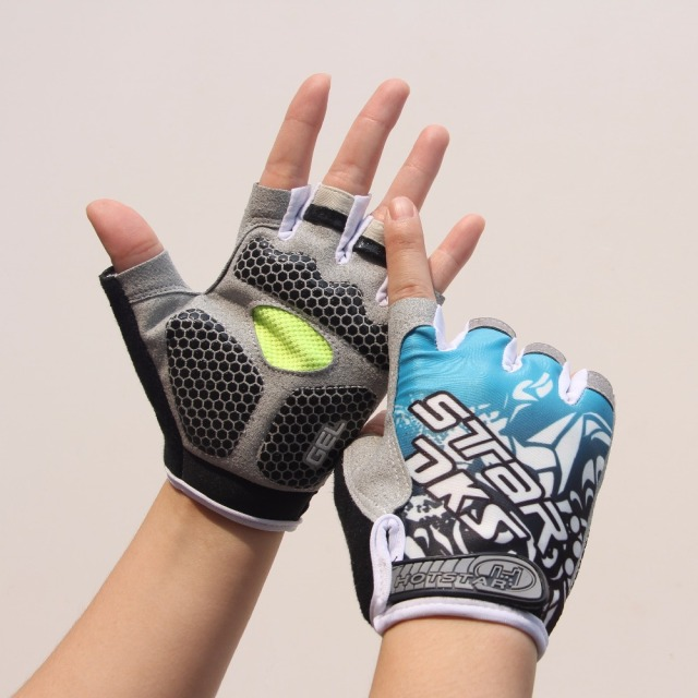 3D Padded Non-slip Gloves Gym Fitness Weight Lifting Bodybuilding Sports for Men and Women