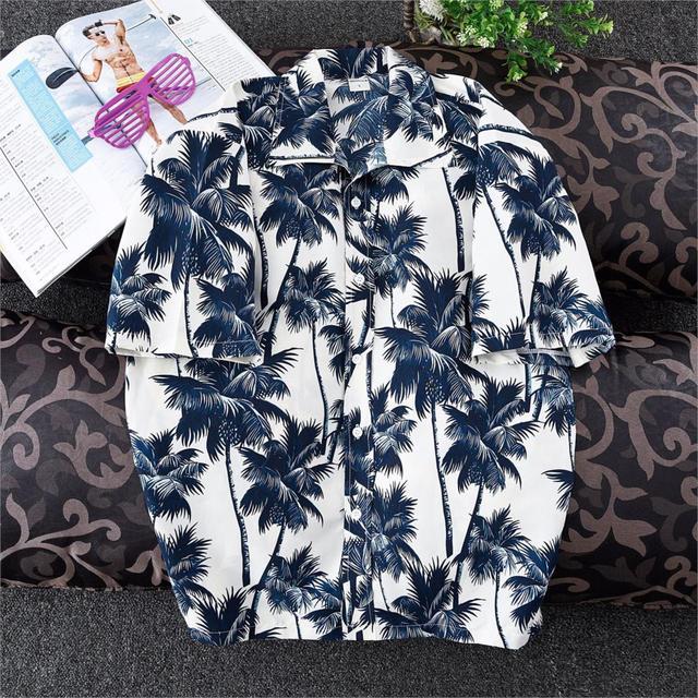 Miami Palms Hawaiian Shirt