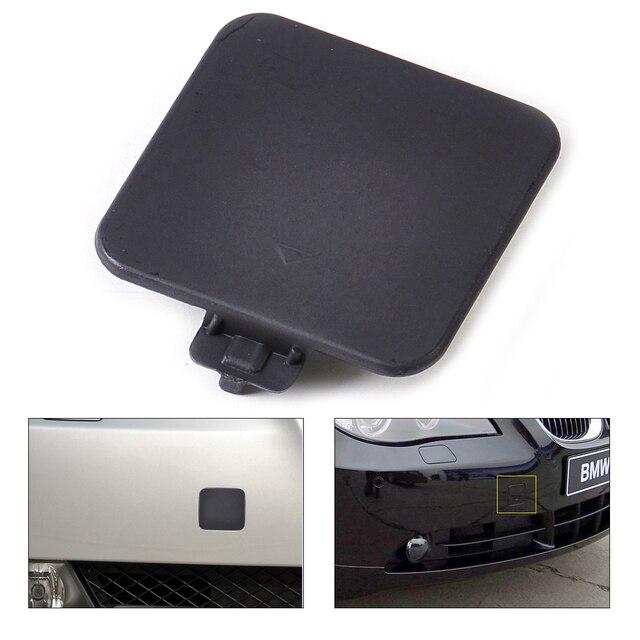 Черный Передний Бампер Фаркоп Заглушка 51117111787, Пригодный для BMW E60 E61 525i 2004 2005 2006 2007 Для 525xi 530i 530xi 545i 550i