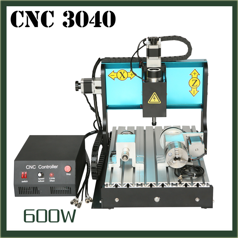 JFT Good Price 4 Axis 600W Metal Engraving Machine with Parallel Port Micro Drilling Machine 3040JFT Good Price 4 Axis 600W Metal Engraving Machine with Parallel Port Micro Drilling Machine 3040
