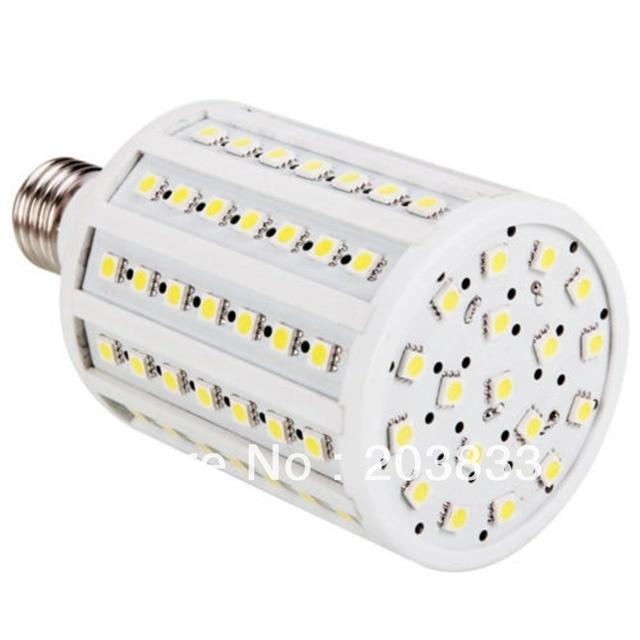 18W E27 102 LED SMD 5050 Pure White Corn Light 220V 1800-2000LM   LE059