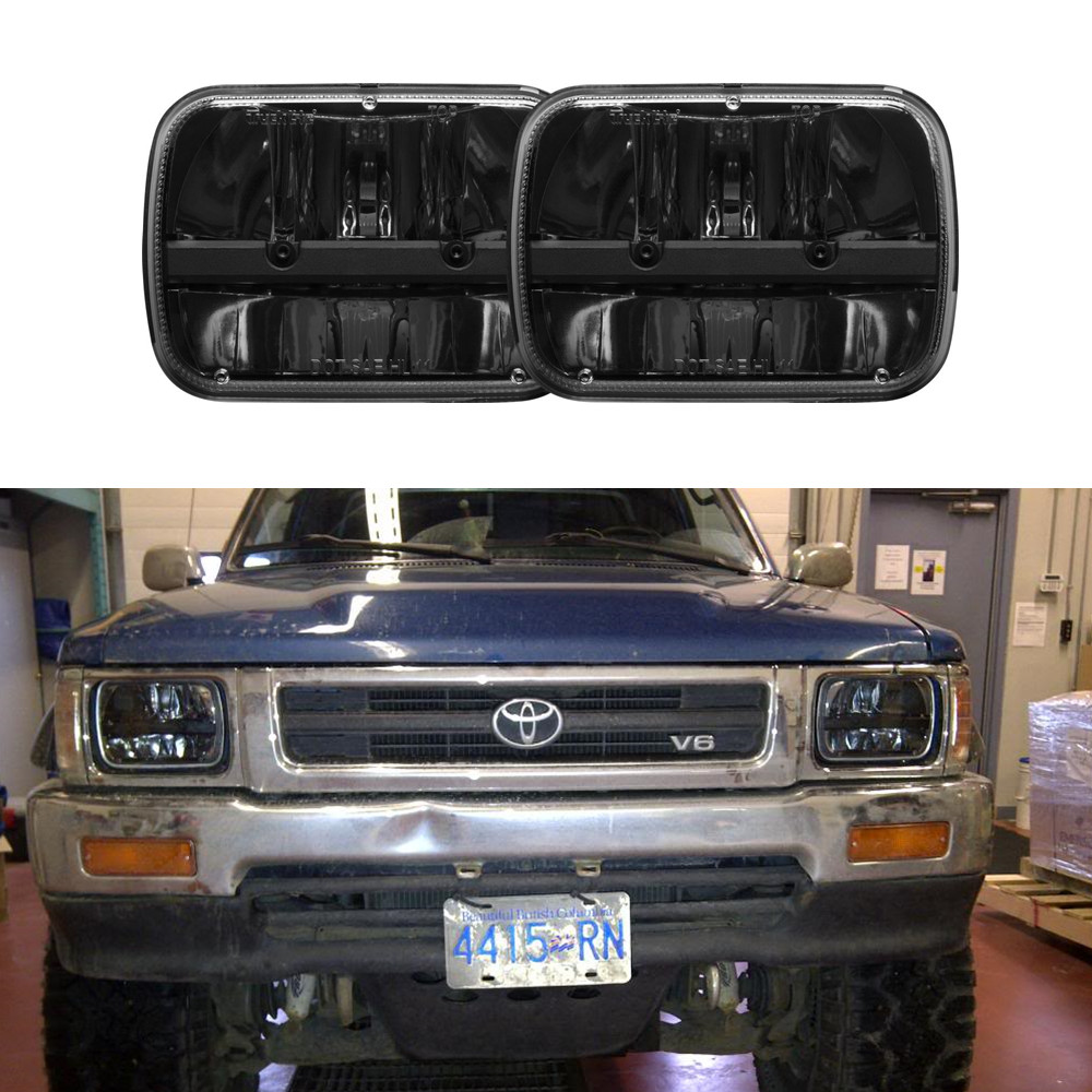 hight resolution of 5x7 square led truck headlight hi lo beam headlamp for jeep cherokee xj trucks in car light assembly from automobiles motorcycles on aliexpress com