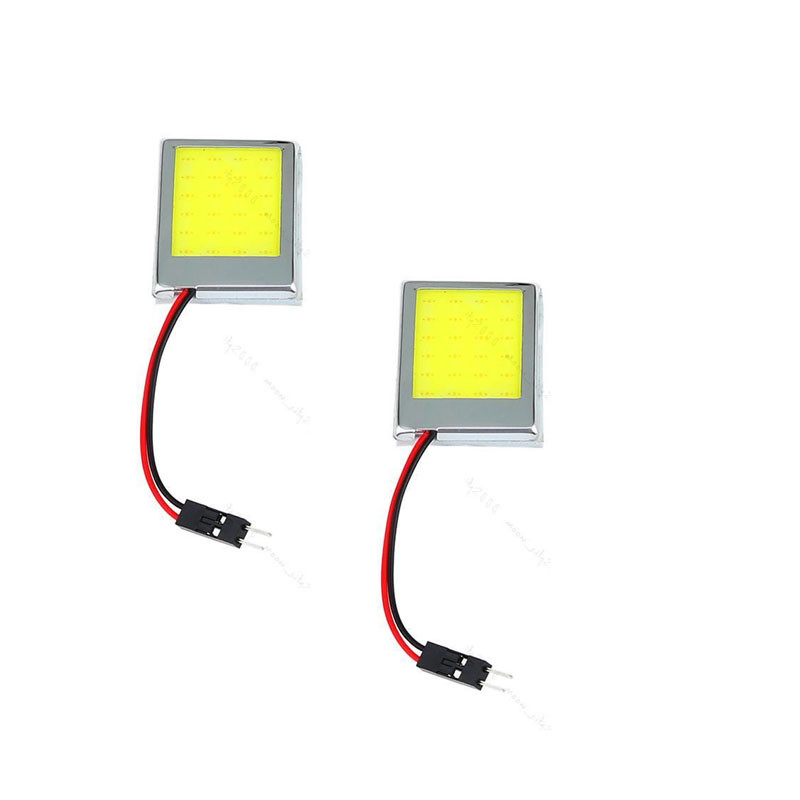 kongyide Healight Bulbs 2PC T10 24 SMD LED Panel Interior White Car Auto Lamp Adapters 12V NOV10
