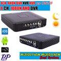 Mini DVR 4/8CH DVR Grabador Full HD P2P Nube Grabador DVR HD1920 * 1080 CANALES sistema de Grabación de Vídeo HVR AHD Envío Gratis