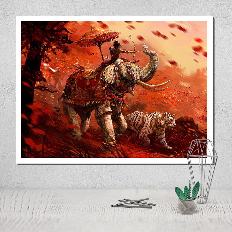 Canvas Painting Poster Far Cry 5 Modular Picture Paintings On Wall Posters In Monopoly Pop With Free Shipping Worldwide Weposters Com