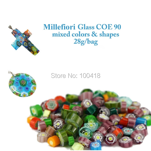 China Supplier COE 90 Millefiori Glass (20bags/lot) & Millefiori glass Wholesale on alibaba express-in Tool Parts from Tools    1
