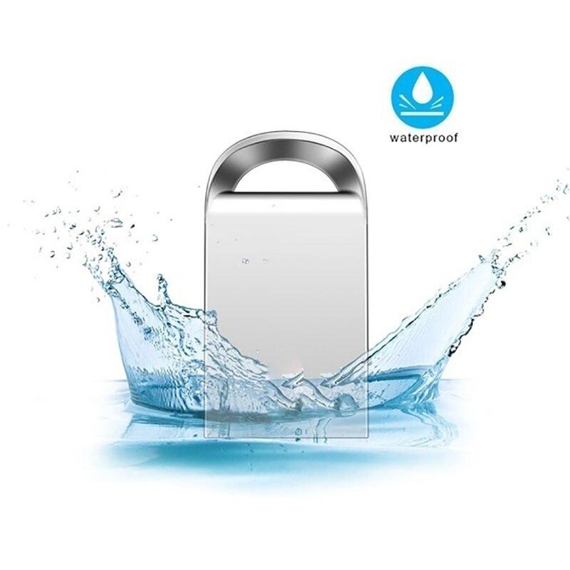Memory Stick Mini Usb 3.0 64GB  Waterproof Usb Flash Drive 128gb U Disk Key Pendrive 32GB 16GB Pen Drive 8GB Free Customize Logo