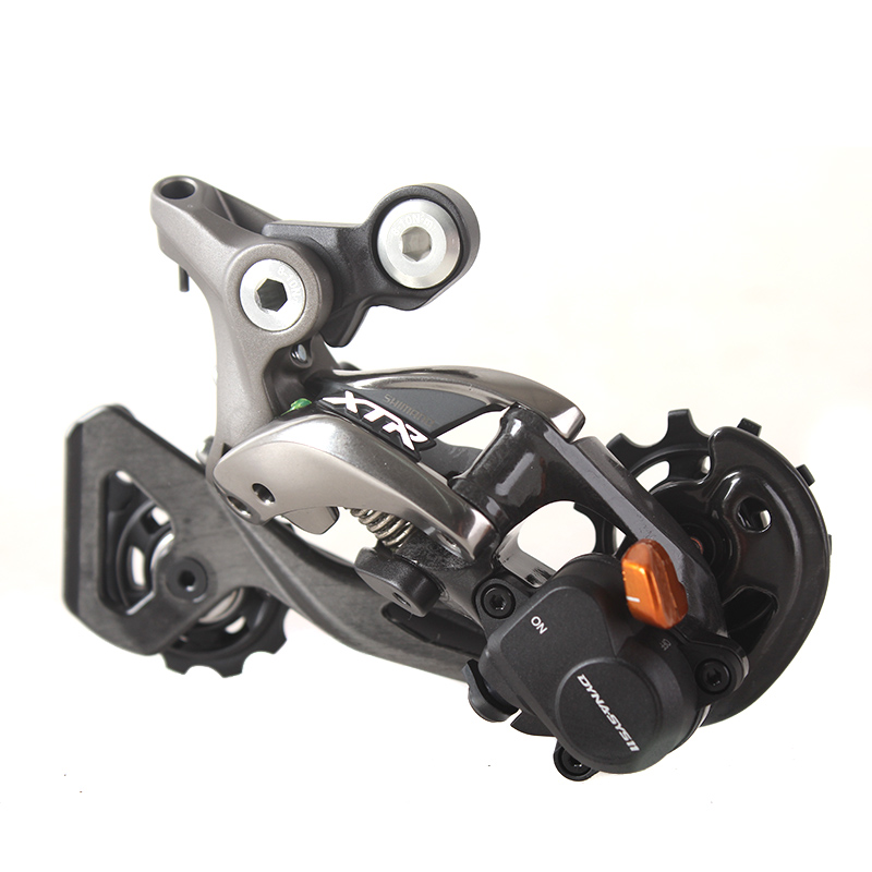 SHIMANO X.T.R RD M9000 Rear Derailleurs Shadow + / Locking System MTB Bike Accessory Mountain Bicycle Parts for 11S Speed the mountain shadow