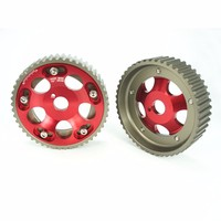 2pcs Cam Gears Pulley Kit Alloy Timing Gear For Toyota Supra 1jz 2jz Cam Pulley Pullys Gears Red/Blue/Purple Color YC100731