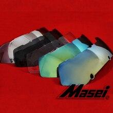 MASEI 610 Motorcycle helmet lenses IRONMAN Iron Man helmet len ses half helmet open face helmets 610 Accessories