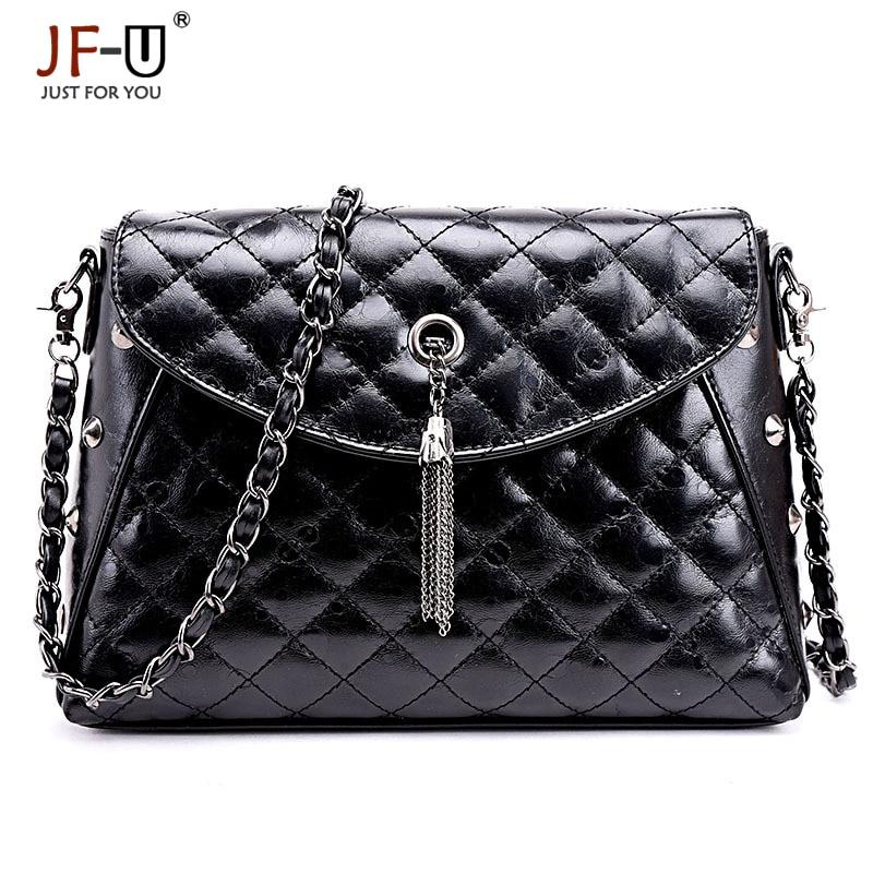 ФОТО JF-U New Fashion Women Handbag Shoulder Bags Women Messenger Bags Leather Handbags Women Crossbody Bags sac femme sac de luxe