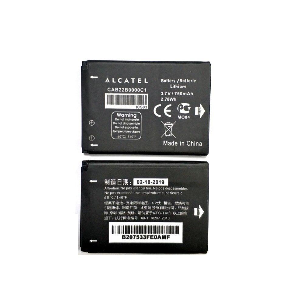 New CAB22B0000C1 Battery For ALCATEL One Touch 103 103A 105 105A OT-2012D CAB3010010C1 CAB30M0000C1 CAB2170000C1 CAB0400000C1