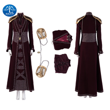 MANLUYUNXIAO Cersei Lannister Cosplay Game of Thrones Season 8 Outfit Halloween Costumes For Women Masquerade Christmas Suits