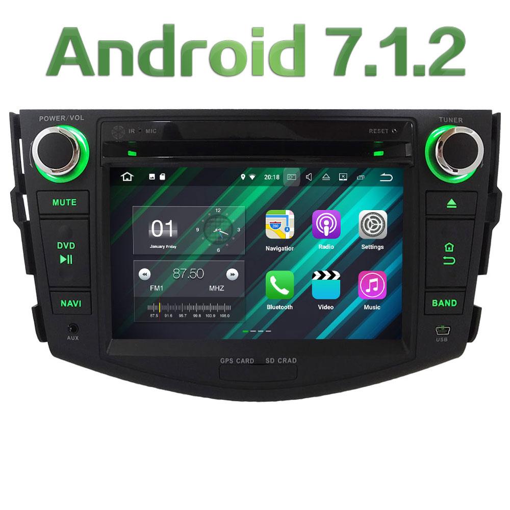 7 Quad Core HD Android 7 1 2 2GB RAM 3G 4G DAB SWC Wifi Multimedia