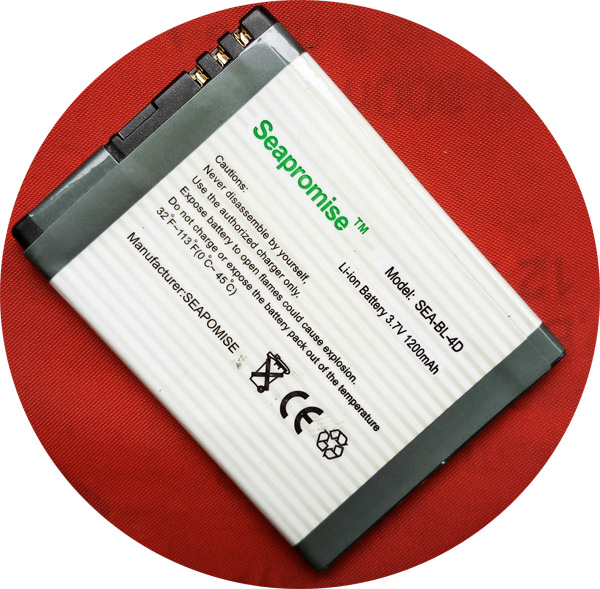 Freeshipping Retail SEAPROMISE battery BL-4D BL 4D BL4D for <font><b>Nokia</b></font> E5,E5-<font><b>00</b></font>,E7,E7-<font><b>00</b></font>,<font><b>N8</b></font>,N97 Mini,T7.. image