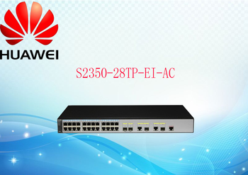 Huawei S2350-28TP-EI-AC 24-port intelligent management switch can replace S2750-28TP-EI-AC and 2326-EI фото